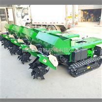 果园施肥回填机 履带式旋耕机 坡地施肥机