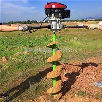 汽油打孔机 手提挖坑机 冻土钻地机大直径