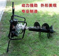 四冲程地钻机 汽油钻冰机 拖拉机挖坑机价格