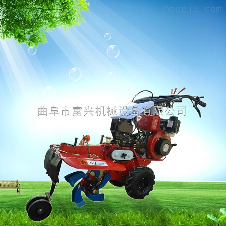 节能省油耐用开沟管理机 186型柴油旋耕机