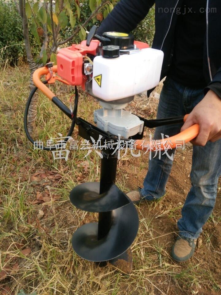 立電線桿打孔機 大馬力植樹挖坑機熱銷