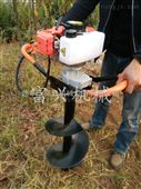 富兴植树挖坑机价格 蔬菜大棚打坑机