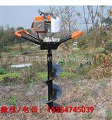 拖拉机打坑机 富兴大功率支架式挖坑机价格