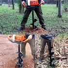 FX-WKJ大马力悬挂式钻眼机 四冲程植树打眼挖坑机