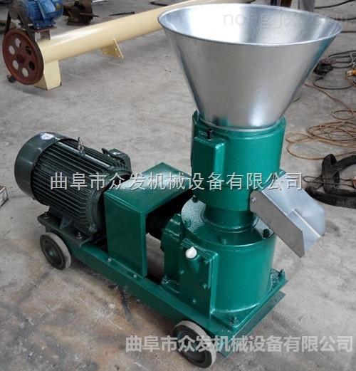 供应饲料专用颗粒机 平模颗粒造粒机 小型饲料加工机械