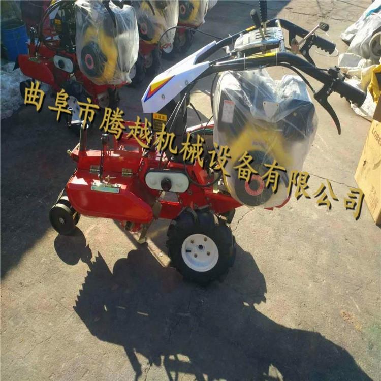 电启动可旋转土豆开沟机 农用大葱培土机