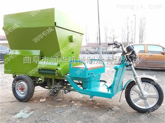 优质饲料撒料车 多容积柴油喂料车价格