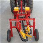 FX-SHJ四轮车带条铺花生起果机 链条花生收获机