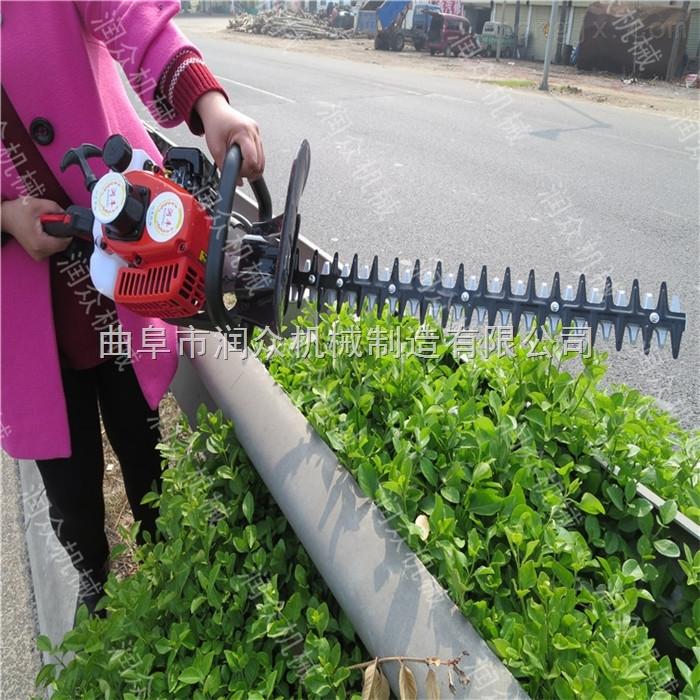 路边花草修剪机 汽油小型绿篱机价格