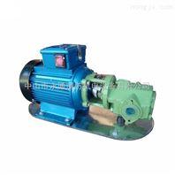 卧式单级齿轮油泵 管道式齿轮泵