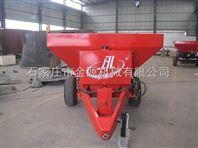 拖拉机带动底肥撒肥机价格厂家  河北金源