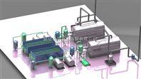 安徽蚌埠玉米脱皮制糁机生产线图片