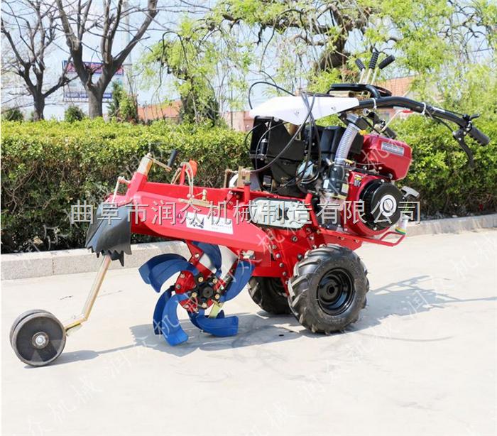葡萄园专用开沟埋藤机 汽油小型大葱培土机