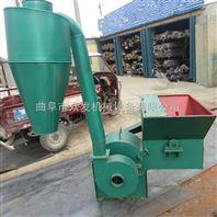 饲料加工设备 可移动木柴破碎机 豆杆粉碎机