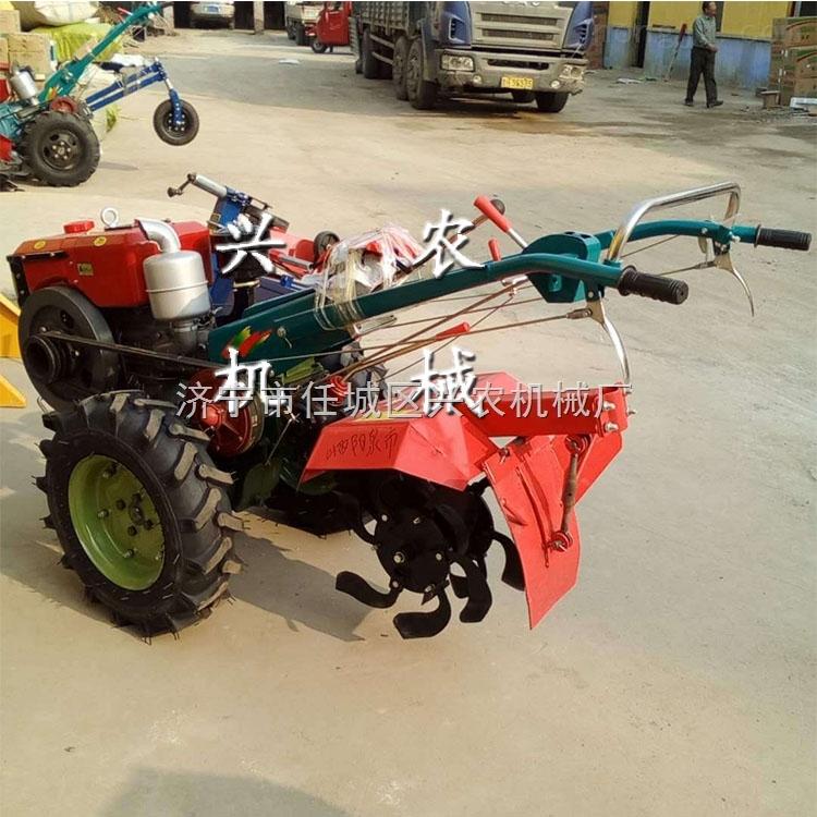 熱銷手扶式柴油旋耕機 小型多功能拖拉機