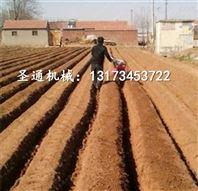 葱姜追肥培土机 圣通手扶式开沟机