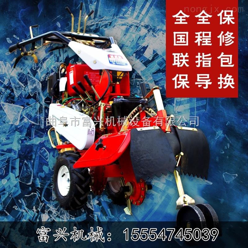 種植開溝機廠家 富興大姜培土機價格