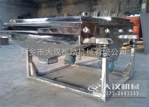 筛分设备厂家供应不锈钢直线振动筛粉机