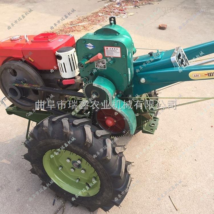 汽油旋耕機小型單行手扶拖拉機玉米收割機