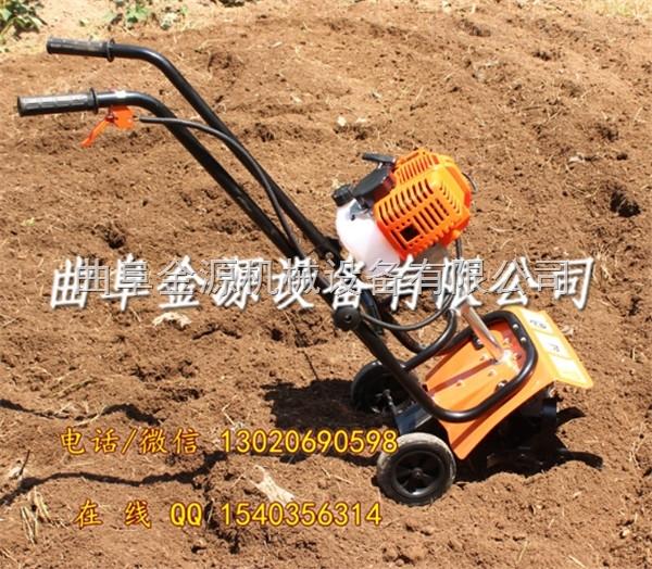 菜園旋耕機松土機 多功能小型微耕機
