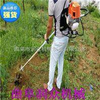 果园松土除草机 大棚旋耕锄草机 背负松土机