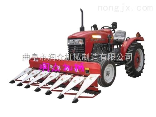 高杆作物收割机 收割黑麦割晒机 水稻割捆机