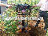 大直径挖坑机 打眼钻坑机 50厘米直径打坑机