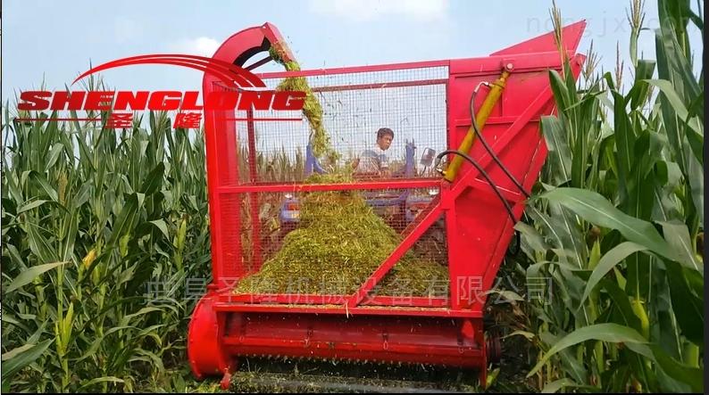 SL180-拖拉机带动的秸秆粉碎收集机