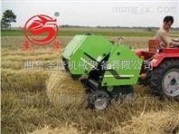 拖拉机带动苞米秸秆捡拾打捆机生产厂家直销