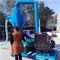 煤粉石子气力输送机 轮式移动吸粮机 兴运吸粮机供应商y2