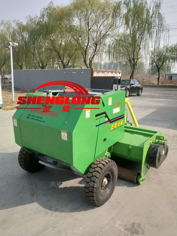 SL130-5080-青贮玉米秸秆行走式捡拾打捆机