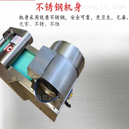 广西多功能蔬菜加工设备 切菜机生产