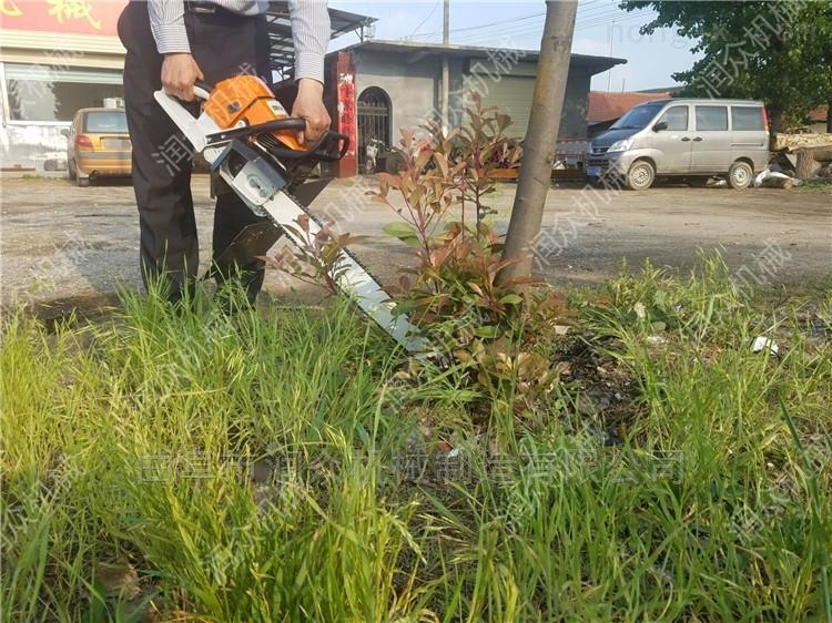 手提挖树根机 土坨切割挖树机 杨树苗起苗机