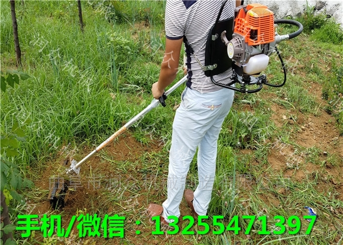 手推式大棚锄草机 操作方便的肩背式割草机
