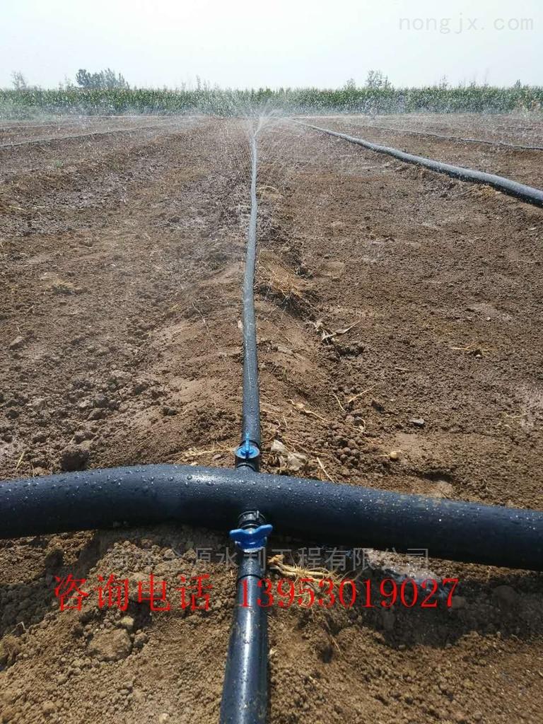 农用滴灌带 节水喷灌带 微喷带直径斜九孔