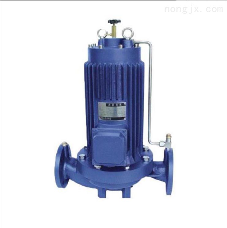 通用立式PBG型屏蔽管道泵