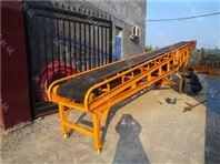 散装物料优质皮带输送机 倾斜v型带式运输机