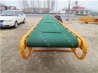 圆管护栏小麦输送机 粮食收购商皮带运输机