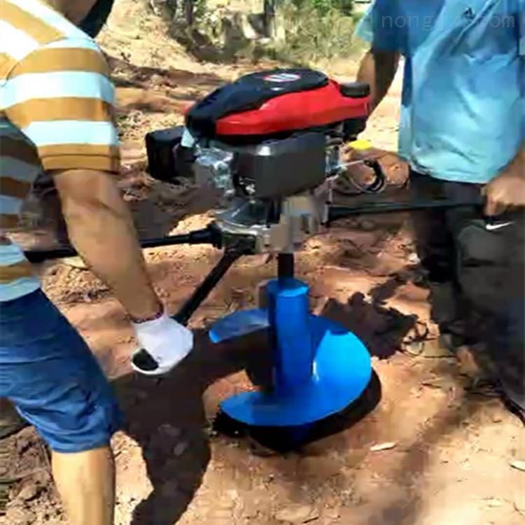 小樹苗挖坑機 四沖程汽油植樹打坑機