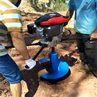 单缸风冷手提式打孔机 植树挖坑机
