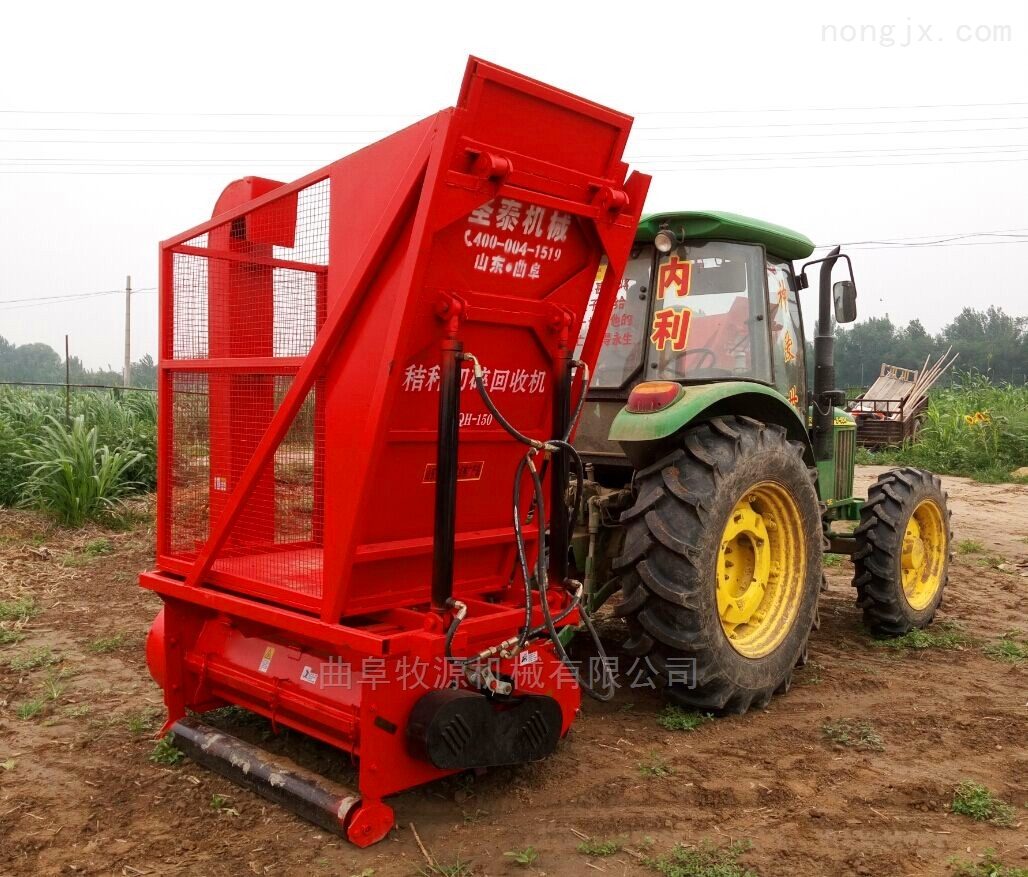 秸秆青储回收机价格玉米秸秆粉碎收获机