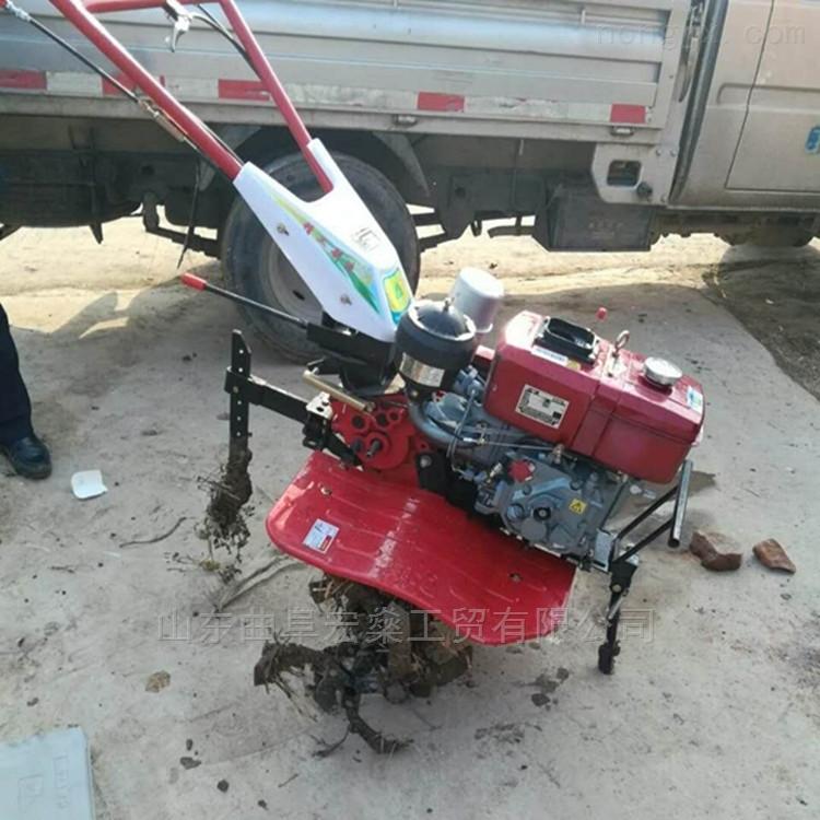 手扶小型旋耕机 柴油微耕机耕地机