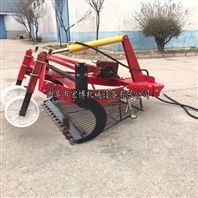 全自动大蒜收获机 单缸拖拉机前置挖蒜机