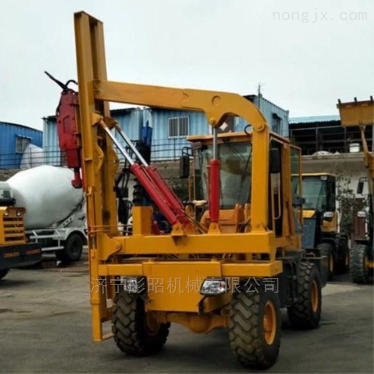 天津装载式打钻一体机 护栏打桩机 质量保证