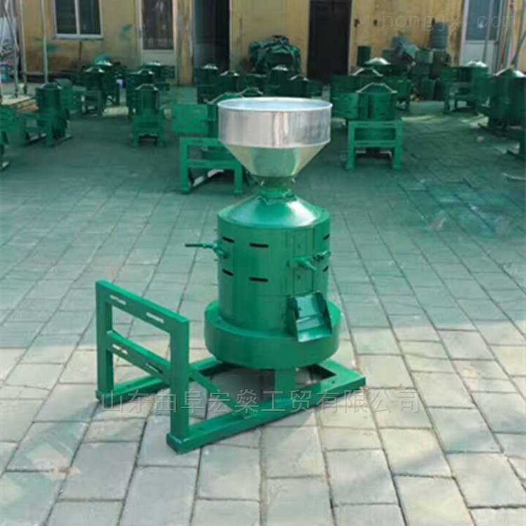 砂轮式稻谷大米碾米机