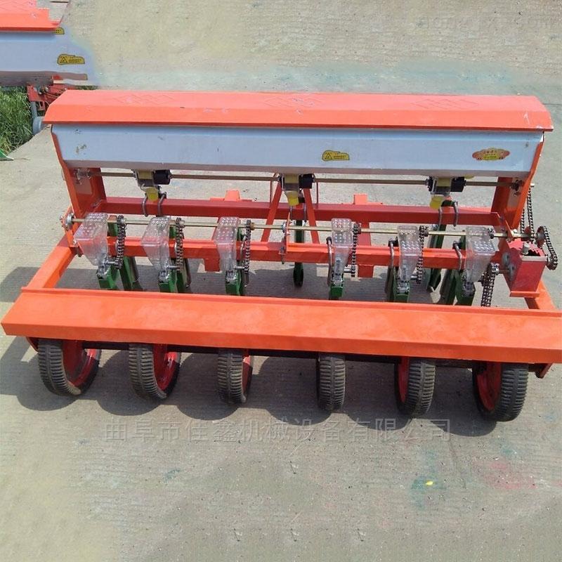 人力手推小型播种机 谷子高粱精播机