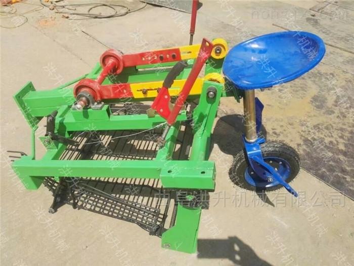 捡拾干净的花生收获机 大田作业土豆收割机