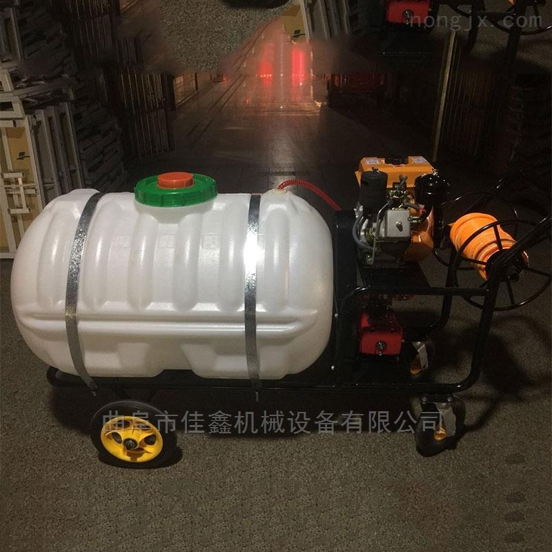 樹苗殺蟲打藥噴霧機價格 手推柴油打藥機