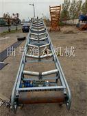 槽钢支架皮带运输机 烘干食品专用输送机