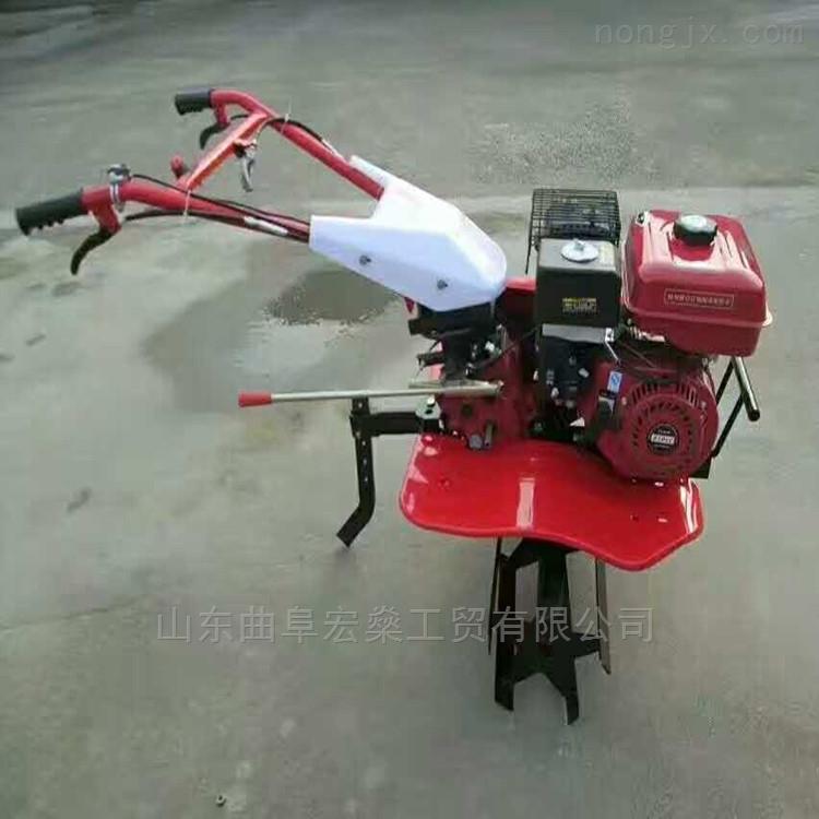 小型汽油微耕机 手扶小型果园旋耕机
